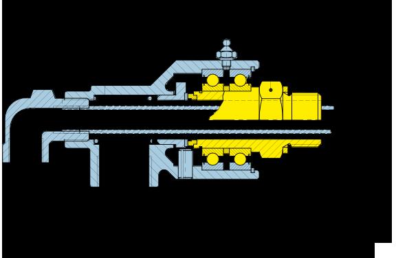 Girol Serie UR Disegno tecnico dei giunti rotanti