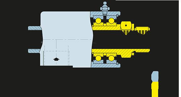Girol KF disegno meccanico